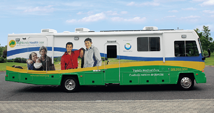 Highlands Health Van