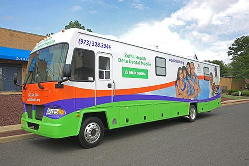 A photo of Zufall's Dental Van
