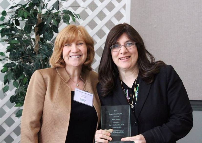 Dr. Amy Kotler, Population Health hero Award, Eva Turbiner, Andale Program
