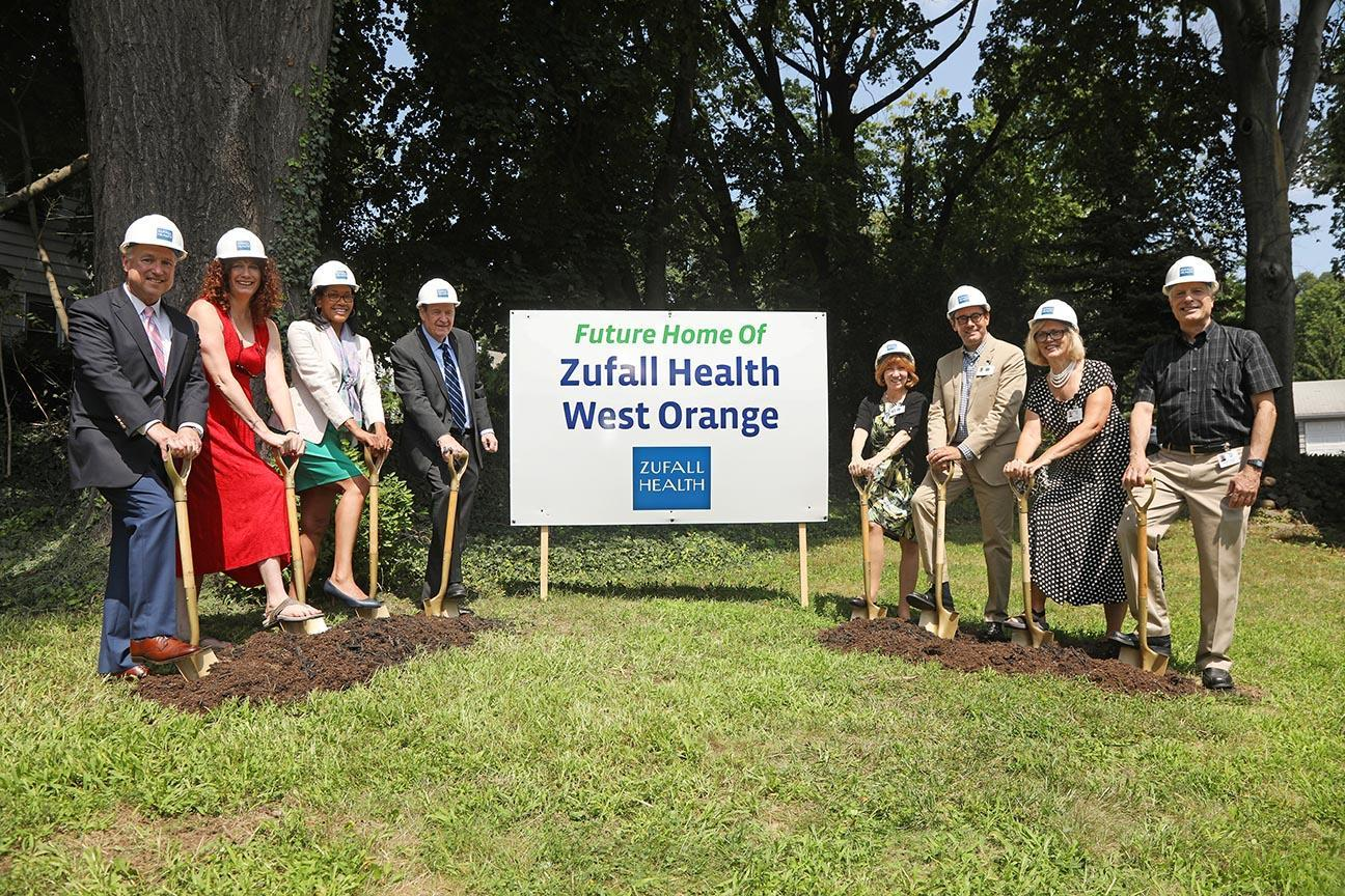 Photo of Groundbreaking for new Zufall Health site in West Orange