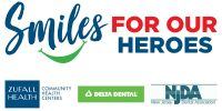 Logo for Smiles for Our Heroes event