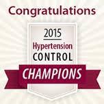 Million Hearts® 2015 Hypertension Control Champion