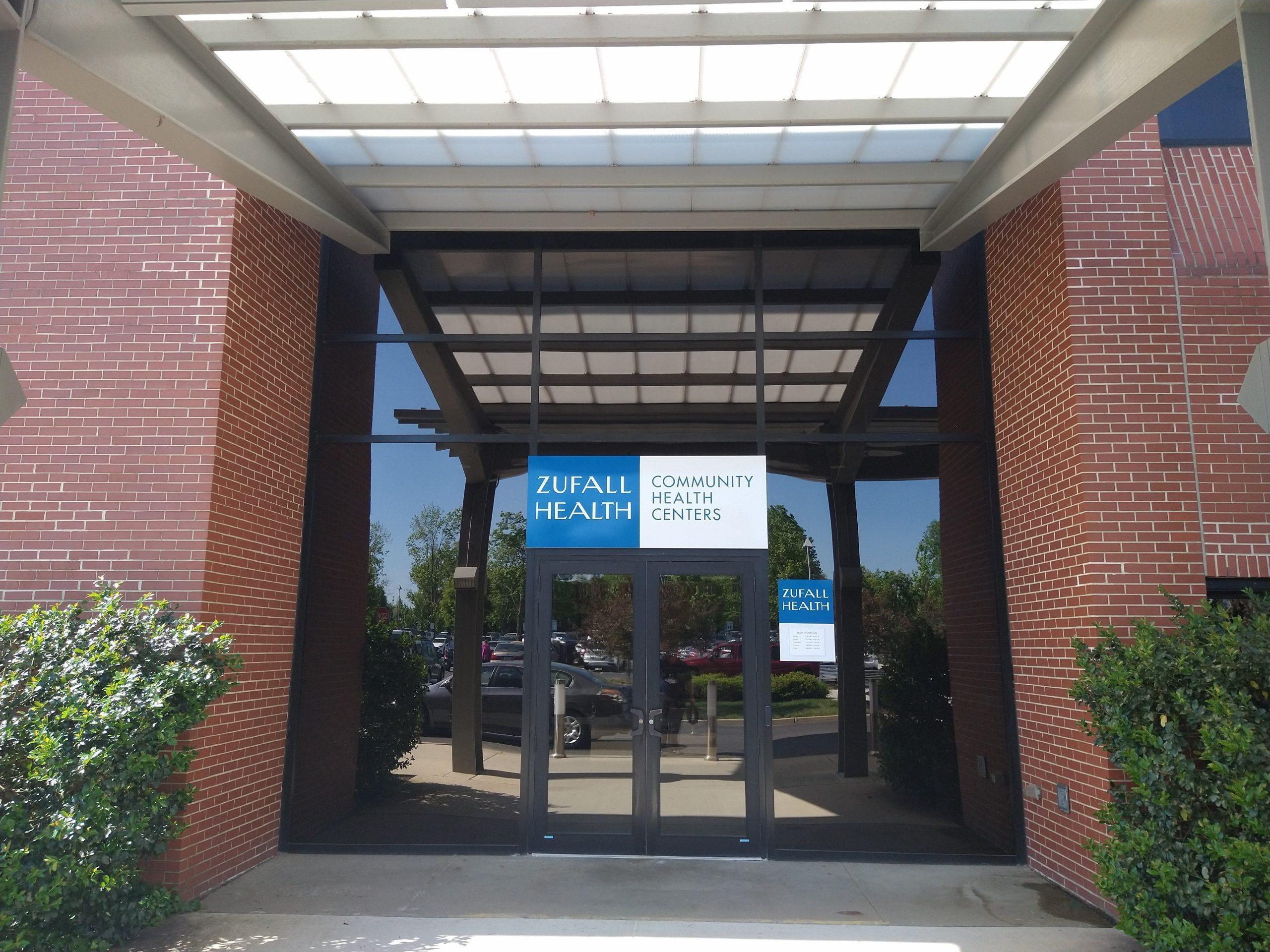 Facade of the Zufall Health Center in Plainsboro, NJ